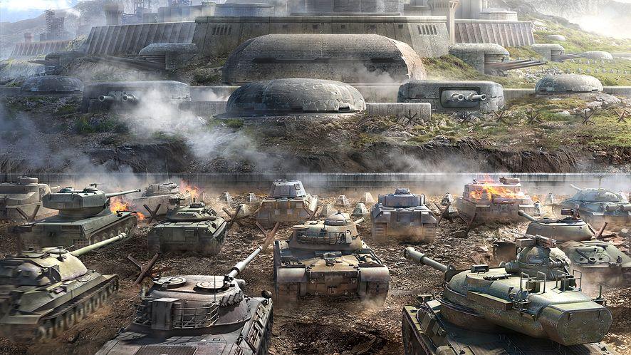 """Jeszcze więcej czołgów w HD, tryb """"Twierdzy"""" i nowa mapa w kolejnej aktualizacji World of Tanks"""