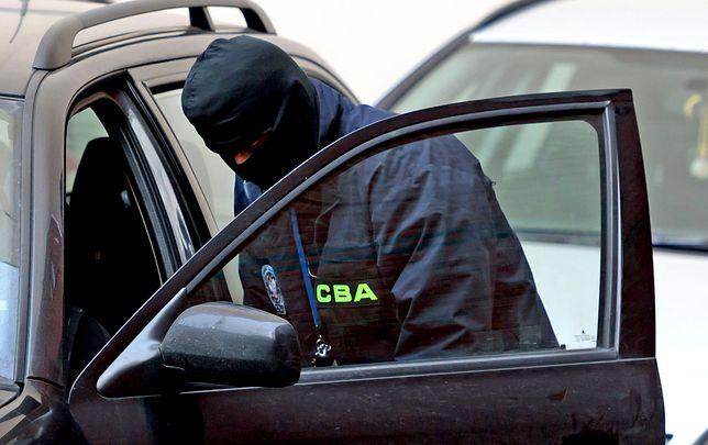 CBA zatrzymało Andrzeja K. i inne osoby w środę