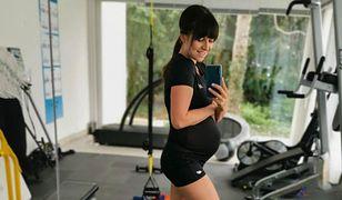 Anna Lewandowska intensywnie ćwiczy w ciąży