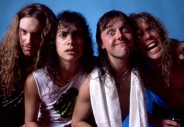 Metallica w 1986 roku (fot. Getty Images)