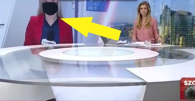 Widzowie TVP Info usłyszeli prywatną rozmowę reporterki