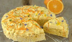 Tort pomarańczowy. Pomysł na uroczysty deser.