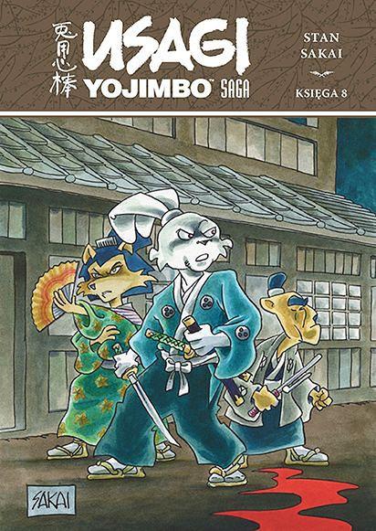Usagi Yojimbo Saga - księga 8, Egmont 2021