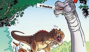Dinozaury w komiksie, tom 3 - recenzja komiksu wydawnictwa Scream Comics
