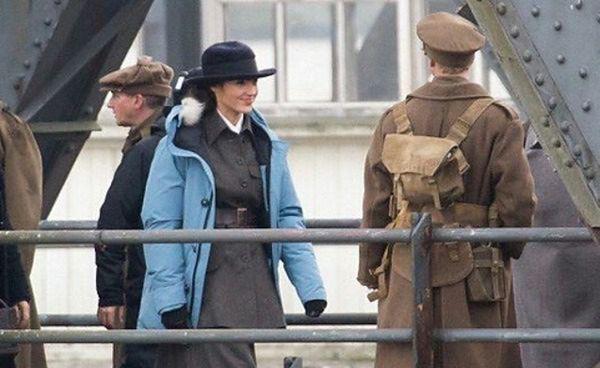 Gal Gadot i Chris Pine na planie ''Wonder Woman''
