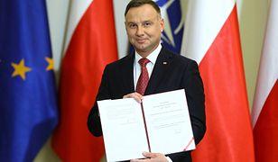 Andrzej Duda podpisał nową ustawę o służbie zagranicznej
