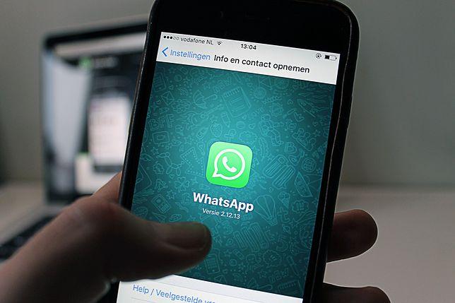 WhatsApp nie dla młodych