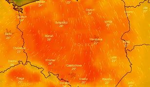 Prawdziwa eksplozja ciepła - a wręcz upału - czeka nas w czwartek i piątek