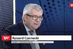 Ryszard Czarnecki nr 2 w Warszawie. Tłumaczy, skąd taka decyzja
