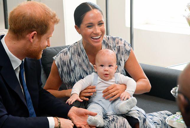 Książę Harry i księżna Meghan zdradzili, jaki kolor włosów ma Archie