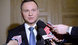 Prezydent Andrzej Duda: wyrazy współczucia dla rodzin zmarłych górników z kopalni Rudna w Polkowicach