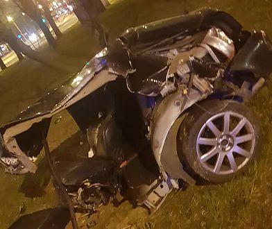 Zdjęcie wykonane przez świadka zaraz po wypadku