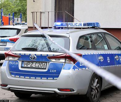 Warszawa. Akcja policji po eksplozji.