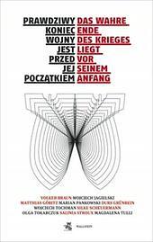 """Ukazała się polsko-niemiecka antologia o """"wojnie pamięci"""""""