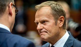 Donald Tusk przyznał się do błędu. Wysłał list do przywódców UE