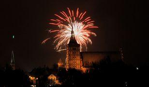 W tym roku nie pooglądamy fajerwerków na sylwestrze w Olsztynie. Zamiast nich będzie pokaz laserowy