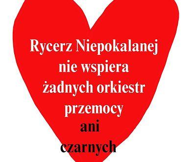 28. Finał WOŚP 2020. Franciszkanie: Rycerz Niepokalanej nie wspiera orkiestr przemocy