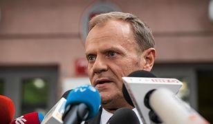 Donald Tusk na przesłuchaniu w prokuraturze