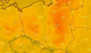 Pogoda. Trąby powietrzne, burze i upały. Ostrzeżenia IMGW w 10 regionach