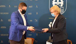 Śląsk. Prezydent Zabrza Małgorzata Mańka-Szulik podpisała umowę z firmą Sweco Polska.