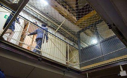 Więzień w Polsce zarabia na siebie