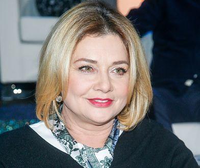 Małgorzata Ostrowska-Królikowska pokazała kuchnię. Wybrała żywą kolorystykę