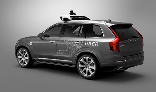Autonomiczne Volvo Ubera po raz pierwszy na ulicy