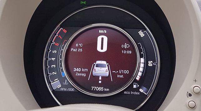 W niektórych autach licznik ma tylko 5 cyfr