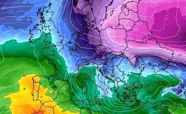 Pogoda długoterminowa. Na wschodzie Europy czai się mroźny potwór