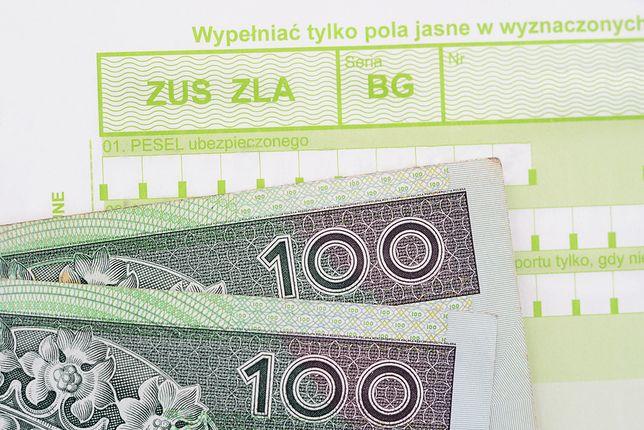 """Rekordzistka na chorobowym """"zarobiła"""" łącznie ponad 76 tys. złotych, wynika z danych ZUS."""