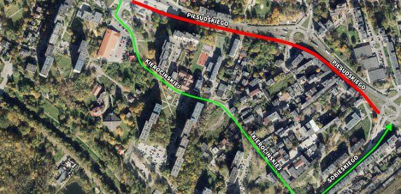 Sosnowiec. Już niedługo zakończy się remont ulicy Piłsudskiego.