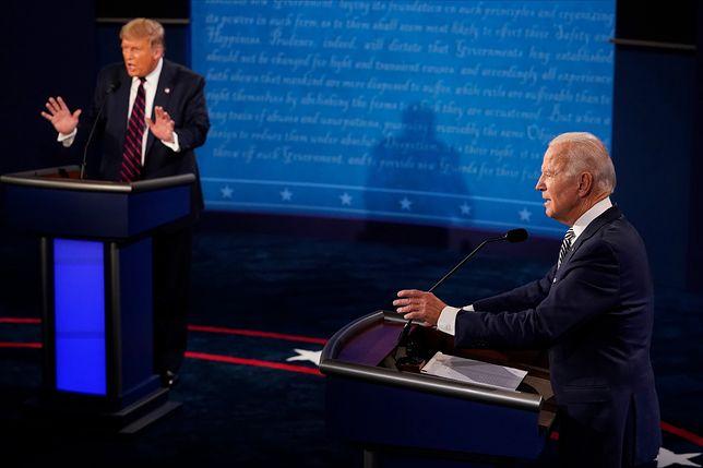 """Debata w USA. Joe Biden i Donald Trump w ostrym starciu. """"Zamkniesz się?"""""""