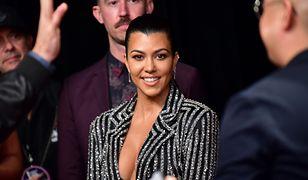 Kourtney Kardashian pokazała się w wyzywającej kreacji