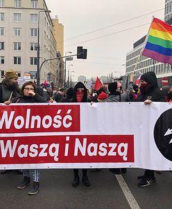 Święto Niepodległości: W Warszawie maszerują antyfaszyści