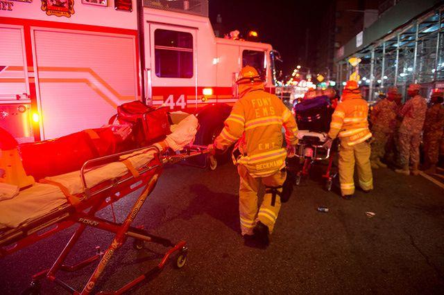 """29 osób rannych w """"celowej"""" eksplozji w Nowym Jorku"""