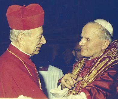 Kardynał Stefan Wyszyński i papież Jan Paweł II