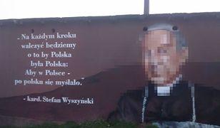 """""""Twarz"""" Stefana Wyszyńskiego nie podoba się mieszkańcom Konina"""