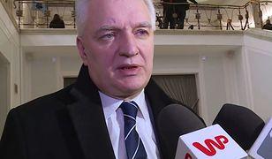 Jarosław Gowin: nie czuję się przystawką
