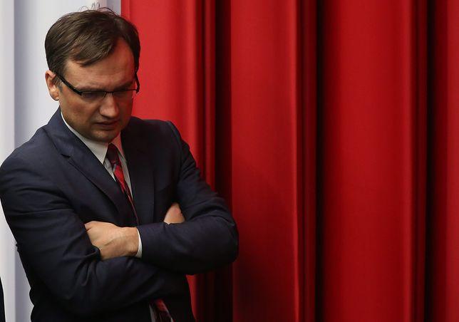 Zbigniew Ziobro 10 listopada wymienił 11 prezesów sadów na Śląsku