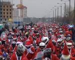 Mikołaje na Motocyklach ze wsparciem rowerzystów i biegaczy