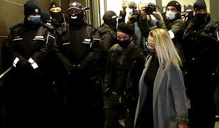 Strajk Kobiet. Nieoficjalnie: dziennikarka usłyszała zarzuty. Stanowisko policji