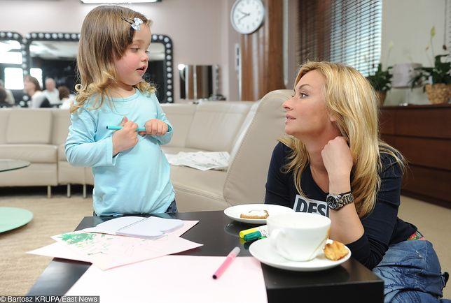 Martyna Wojciechowska nie potrzebuje opiekunki dla córki. Marysia będzie zostawać pod opieką ukochanego