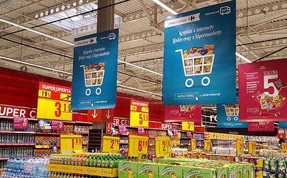 Carrefour startuje ze sprzedażą żywności w sklepie internetowym