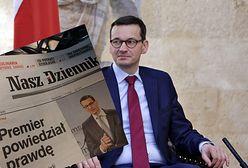 """'Sensacyjne' wieści """"Naszego Dziennika"""". """"Premier powiedział prawdę"""""""