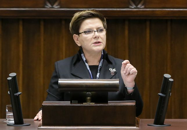 Debata nad wotum nieufności wobec Beaty Szydło. Była premier zabrała głos
