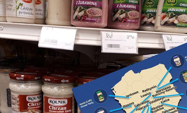 Północna część Polski to biała plama, jeśli chodzi o produkcję najpopularniejszych chrzanów