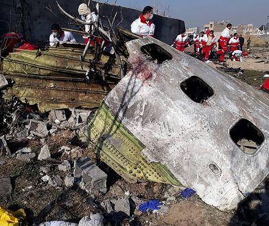 Katastrofa ukraińskiego samolotu. Próba odczytania czarnych skrzynek