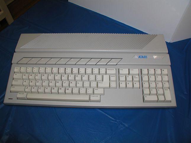 Atari 130ST. Tylko kilka egzemplarzy trafiło w prywatne ręce.