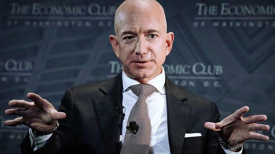 Jeff Bezos, CEO Amazon, fot. Alex Wong/Getty Images