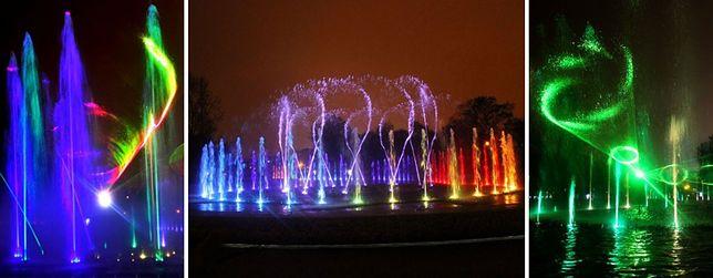 Światła, lasery i woda. Fontanny na Podzamczu z nowym programem!